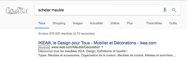 nouveau label google adwords