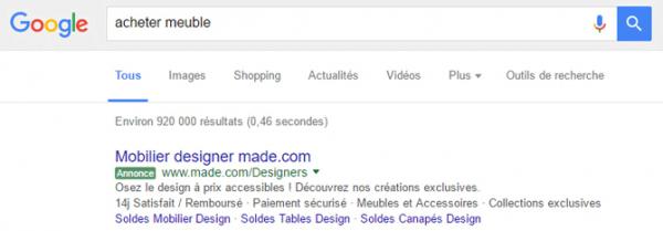 label google adwords
