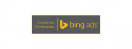 Logo Bing Ads Accredited Professional - Zee Media