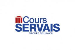 Logo Cours Servais - Zee Média