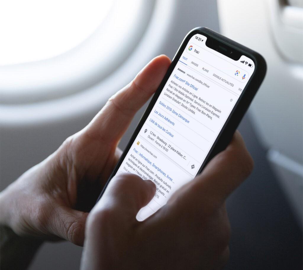 SEO et SEA les habitudes de navigation évoluent sur smartphone