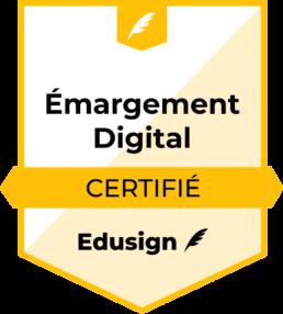Émargement digital certifié Edusign